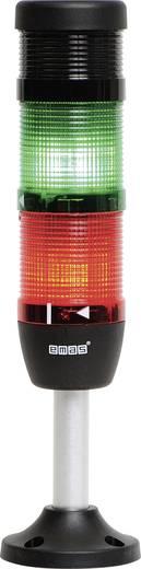LED-Signalsäule 2-fach, mit Summer Grün, Rot 220 V DC/AC EMAS IK52L220ZM03 1 St.