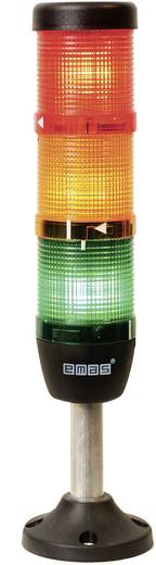 LED-Signalsäule 3-fach Rot, Gelb, Grün 24 V DC/AC EMAS IK53F024XM03 1 St.