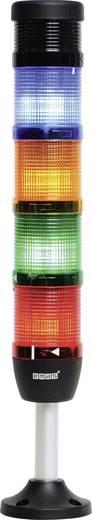 LED-Signalsäule 4-fach, mit Summer Rot, Gelb, Grün, Blau 24 V DC/AC EMAS IK54F024ZM03 1 St.