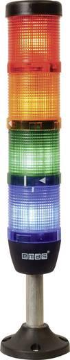 LED-Signalsäule 4-fach Rot, Gelb, Grün, Blau 220 V DC/AC EMAS IK54F220XM03 1 St.