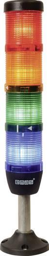 LED-Signalsäule 4-fach Rot, Gelb, Grün, Blau 220 V DC/AC EMAS IK54L220XM03 1 St.