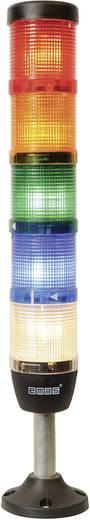 LED-Signalsäule 5-fach Rot, Gelb, Grün, Blau, Weiß 24 V DC/AC EMAS IK55F024XM03 1 St.
