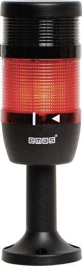 LED-Signalsäule 1-fach, mit Summer Rot 24 V DC/AC EMAS IK71F024ZM01 1 St.