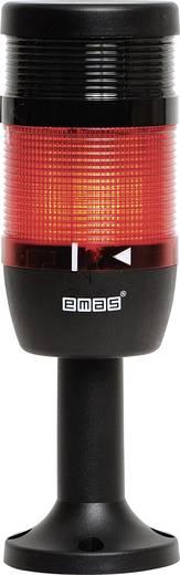 LED-Signalsäule 1-fach, mit Summer Rot 24 V DC/AC EMAS IK71L024ZM01 1 St.