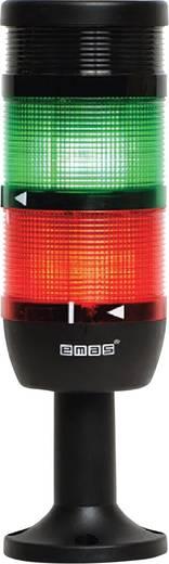 LED-Signalsäule 2-fach, mit Summer Grün, Rot 24 V DC/AC EMAS IK72L024ZM01 1 St.