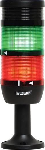 LED-Signalsäule 2-fach, mit Summer Grün, Rot 220 V DC/AC EMAS IK72L220ZM01 1 St.