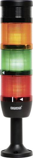 LED-Signalsäule 3-fach Rot, Gelb, Grün 24 V DC/AC EMAS IK73F024ZM01 1 St.