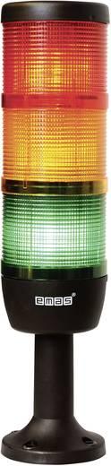 LED-Signalsäule 3-fach Rot, Gelb, Grün 220 V DC/AC EMAS IK73F220XM01 1 St.