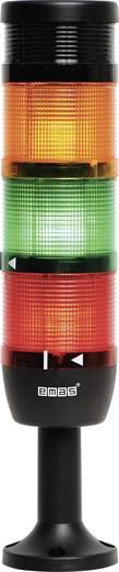 LED-Signalsäule 3-fach Rot, Gelb, Grün 220 V DC/AC EMAS IK73L220ZM01 1 St.