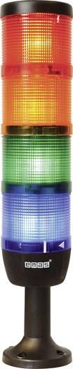 LED-Signalsäule 4-fach Rot, Gelb, Grün, Blau 24 V DC/AC EMAS IK74F024XM01 1 St.