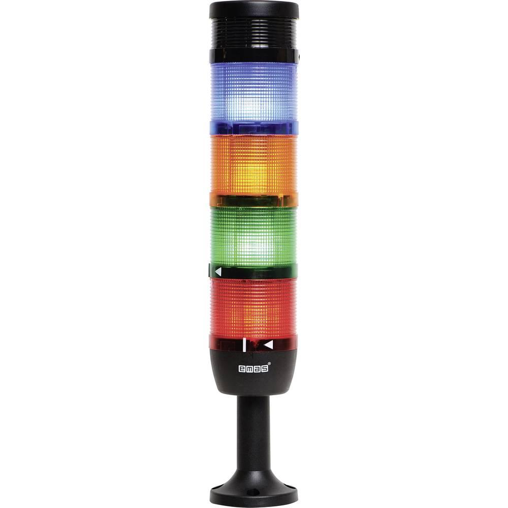 colonne lumineuse led 4 l ments avec buzzer emas. Black Bedroom Furniture Sets. Home Design Ideas