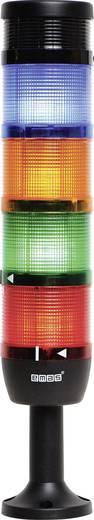 LED-Signalsäule 4-fach, mit Summer Rot, Gelb, Grün, Blau 220 V DC/AC EMAS IK74F220ZM01 1 St.