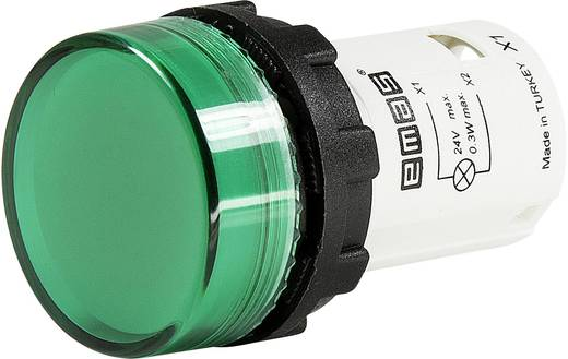 LED-Element Einbau Grün 24 V DC/AC EMAS MBSD024Y 1 St.