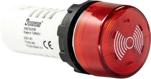 LED-Element Einbau, mit Summer Rot 24 V DC/AC EMAS MBZS024S 1 St.