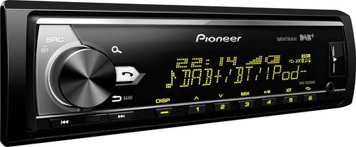 pioneer mvh x580dab autoradio dab tuner anschluss f r. Black Bedroom Furniture Sets. Home Design Ideas