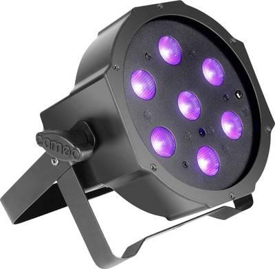 Faretto PAR LED Adam Hall Numero di LED: 7 x 3 W Nero