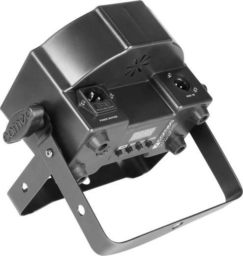 LED-PAR-Scheinwerfer Adam Hall Anzahl LEDs: 7 x 3 W Schwarz