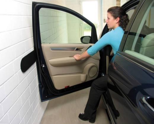 HP Autozubehör Wandschutz-Set filz