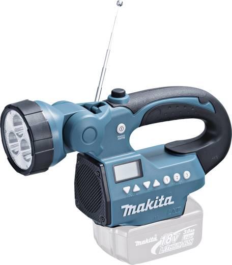 UKW Baustellenradio Makita BMR050 MW, UKW Taschenlampe Grün, Schwarz