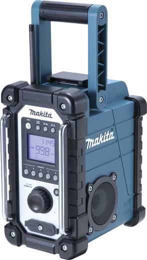 UKW Baustellenradio Makita DMR107 AUX, MW, UKW spritzwassergeschützt Grün, Schwarz