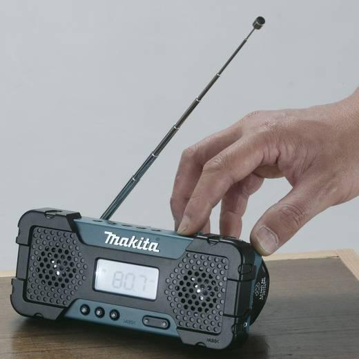 UKW Baustellenradio Makita MR051 AUX, MW, UKW Grün, Schwarz