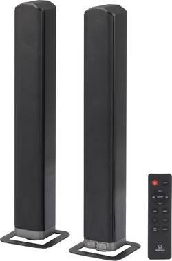 Soundbar Renkforce TB378 olvádání smartphonem, Bluetooth®, NFC, upevnění na zeď, černá