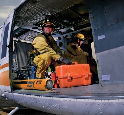 PELI Notfall-Koffer 1460 EMS 33 l (B x H x T) 530 x 323 x 324 mm Orange 1460-005-110E