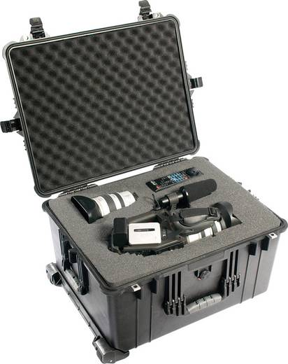 PELI Outdoor Koffer 1620 72 l (B x H x T) 630 x 352 x 492 mm Schwarz 1620-000-110E