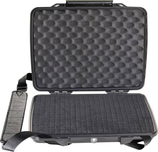 PELI Laptop Koffer 1075 2 l (B x H x T) 314 x 54 x 248 mm Schwarz 1070-000-110E