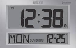 DCF nástěnné hodiny Eurochron Jumbo Bluetooth šedá
