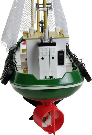 Carson Modellsport Fischkutter Cux-13 RC Motorboot 100% RtR 585 mm