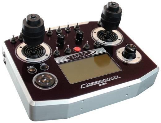 ScaleArt COMMANDER SA 1000 + joystick-uitbreiding Pult-Fernsteuerung 2,4 GHz Anzahl Kanäle: 16