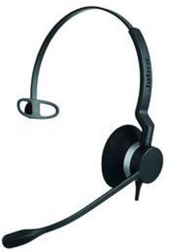 Telefon-Headset QD (Quick Disconnect) schnurgebunden Jabra BIZ™2300 Monaural Over Ear Schwarz