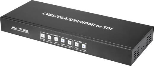 AV Konverter [HDMI, DVI, VGA, Composite Cinch - SDI] 1920 x 1080 Pixel SpeaKa Professional SP-AV/SDI