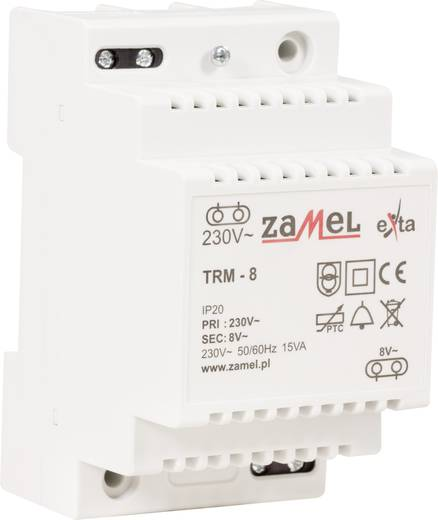 Klingel-Transformator 8 V/AC 1.88 A Zamel TRM-8