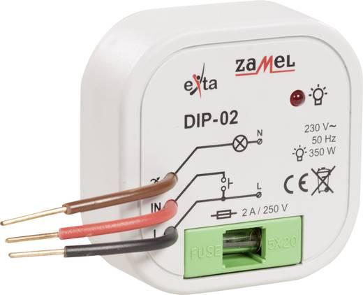 Zamel DIP-01 Unterputz Dimmer Geeignet für Leuchtmittel: Glühlampe, Halogenlampe