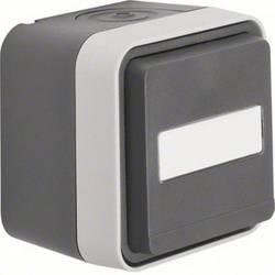berker serienschalter aufputz w 1 grau lichtgrau 30753505. Black Bedroom Furniture Sets. Home Design Ideas