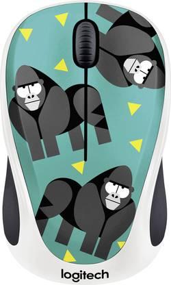 Souris sans fil optique Logitech M238 Gorilla vert