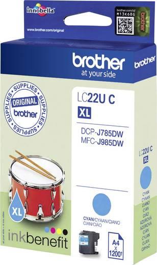 Brother Tinte LC-22U C Original Cyan LC22UC