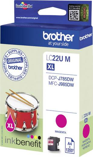 Brother Tinte LC-22U M Original Magenta LC22UM