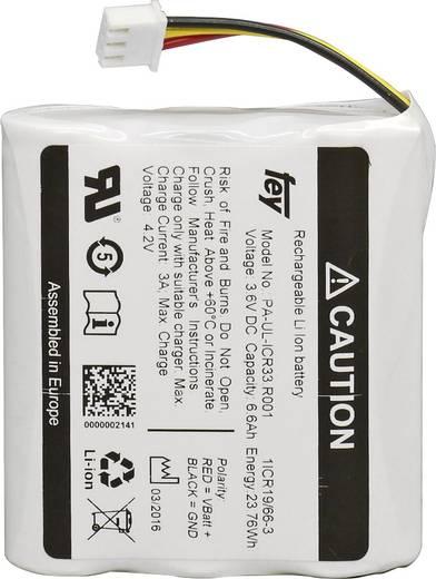 Akkupack 3x 18650 Stecker Li-Ion Fey Elektronik ICR-1865022F 3.6 V 6600 mAh