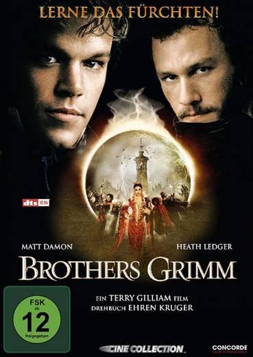 DVD Brothers Grimm Lerne das Fürchten FSK: 12