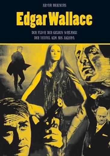 DVD Edgar Wallace Der Fluch der gelben Schlange / Der Teufel kam aus Akasava FSK: 16