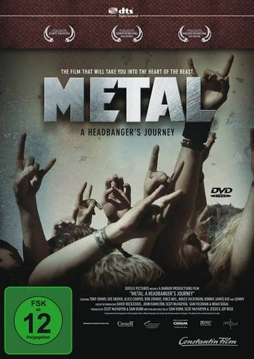 DVD Metal A Headbangers Journey FSK: 12
