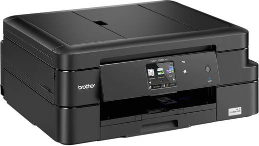 Brother inkbenefit DCP-J785DW Tintenstrahl-Multifunktionsdrucker A4 Drucker, Scanner, Kopierer WLAN, Duplex