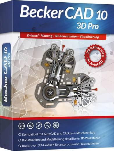 Markt & Technik Becker CAD 10 3D PRO Vollversion, 1 Lizenz Windows CAD-Software