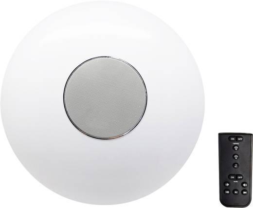 Renkforce Rubi LED-Deckenleuchte mit Lautsprecher 32 W Warm-Weiß Weiß