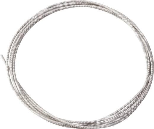 Stahl-Litze kunststoffummantelt Reely Produktabmessung, Länge: 2000 mm Außen-Durchmesser: 1.0 mm