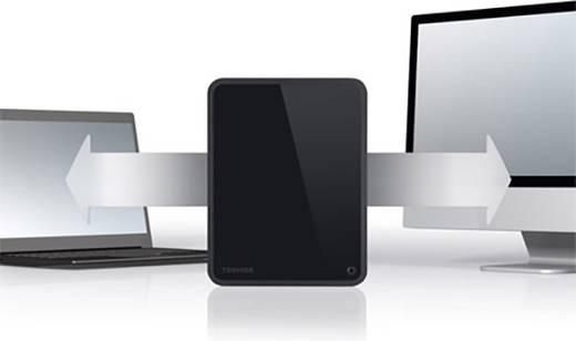 Externe Festplatte 8.9 cm (3.5 Zoll) 3 TB Toshiba Canvio for Desktop Schwarz USB 3.0