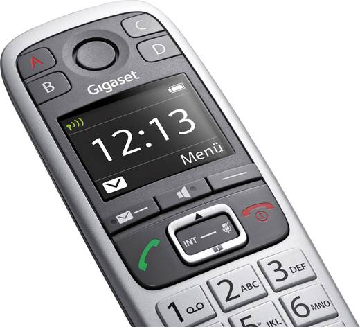 DECT Mobilteil Gigaset E560 HX Platin